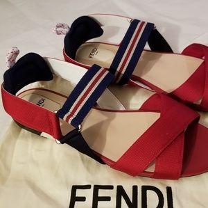 Fendi Shoes - Fendi Colibrí Tech Sandals - NWOB